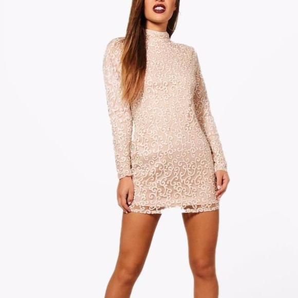 clearance prices top design differently Petite Boutique Sequin Bodycon Dress NWT